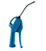 Ergonomic air blow gun / nozzle