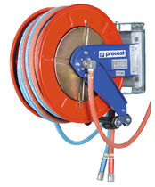 Hose reel / self-retracting / open / with mounting bracket