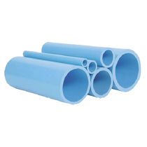 Compressed air pipe / for compressed air networks / for vacuum / PVC