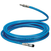 Breathing air hoses / PVC / fabric-braided