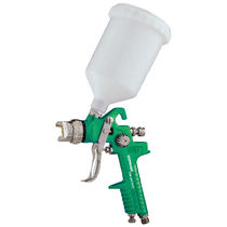 Spray gun / for paint / manual / gravity feed