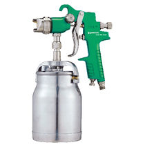 Spray gun / for paint / manual / suction