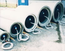 Inflatable shutter / for pipes