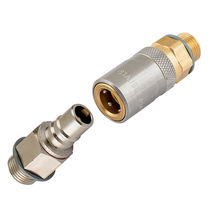 Quick coupling / straight / pneumatic