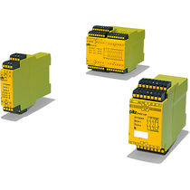 Safety relay / modular / compact / emergency stop