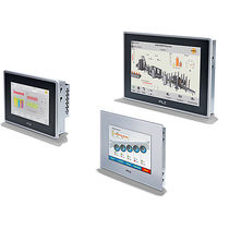 HMI terminal with touch screen / panel-mount / RISC / IP65
