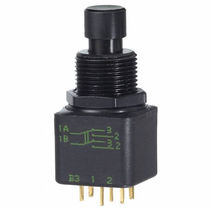 Bipolar push-button switch / electromechanical / standard / IP67