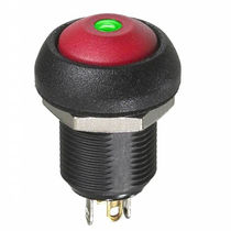 Single-pole push-button switch / momentary / electromechanical / IP67