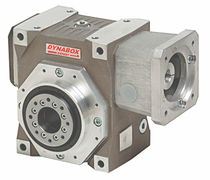 Worm gear reducer / orthogonal / low-backlash / transmission
