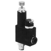 Air pressure regulator / single-stage / pneumatic / miniature