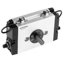 Rotary cylinder / pneumatic / double-acting / end-of-stroke