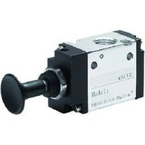 Spool pneumatic directional control valve / manually-controlled / 3/2-way