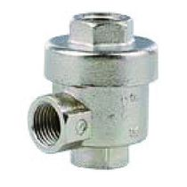 Pneumatic valve / for air / unidirectional / quick-release exhaust
