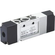 Spool pneumatic directional control valve / air-operated / 5/3-way