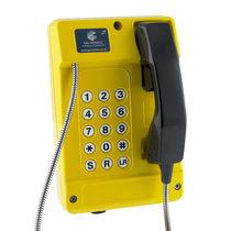Vandal-proof telephone / IP65 / VoIP / SIP