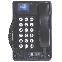 Weatherproof telephone / explosion-proof / robust / analog