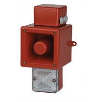 Alarm sounder with signal light / with xenon beacon / IP66