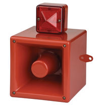Flashing beacon / with audio signal / IP66