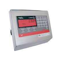 Multifunction weight indicator-controller / intrinsically safe / stainless steel / panel-mount