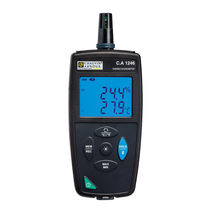 Digital thermo-hygrometer / direct-reading / with LED display / portable