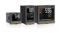 Temperature regulator with LCD display / PID / programmable / with remote control
