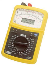 Digital multimeter / analog / portable / true RMS