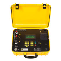 Micro-ohmmeter (resistance measurement) / digital / portable