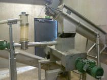 Batch mixer / stainless steel / for sludge and lime