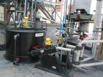 HDPE container / preparation