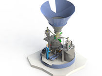 Powder solution hydro-ejector