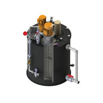 Activated carbon disperser
