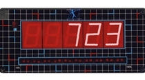 Numeric displays / 7-segment / 5-digit / electronic