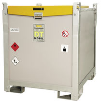 Diesel dispensing station / double-walled