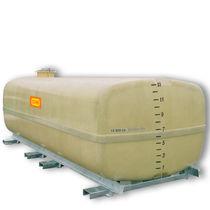 Polyester cistern / storage / horizontal