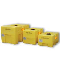 Polyethylene tank / storage / horizontal