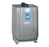 Zinc-plated steel tank / polyethylene / double-walled / transport
