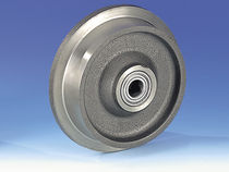 Monobloc wheel / cast iron / for trucks / flanged