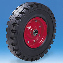 Wheel with pneumatic tire / polypropylene / for trucks / for trolleys