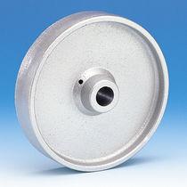 Monobloc wheel / cast iron / for heavy loads