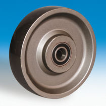 Monobloc wheel / steel / for heavy loads / for heavy loads