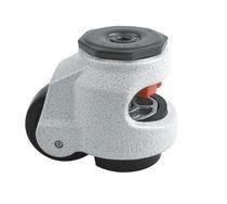 Swivel caster / rod / nylon / aluminum
