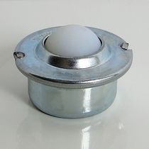 Stainless steel ball transfer unit / cylindrical base