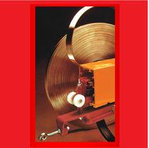 Partially-enclosed conductor rail / copper / PVC / multi-conductor