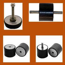 Cylindrical anti-vibration mount / rubber