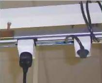 Busbar trunking system with plug sockets