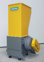 Single-shaft shredder / for wood / compact