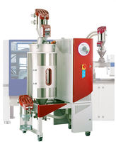Dry air dryer / batch / for plastic pellets / cleaning
