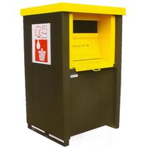 Steel waste container / waste oil