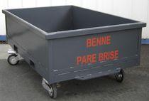 Urban waste waste container