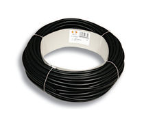 Tubular sleeve / for cables / thermal protection / rubber